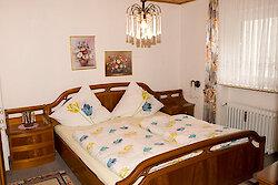 Schlafzimmer mit Doppelbett Fewo Romantika - Sankt Englmar